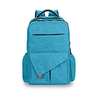 Diaper Bag Backpack,Multifunction Diaper Backpack with Stroller Straps and Waterproof Large Capacity Baby Bag Backpack for USB Charging Port (blue2)