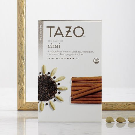 (Tazo Tea Organic Tazo Chai Tea 20 Bags (Pack of 2) by TAZO)