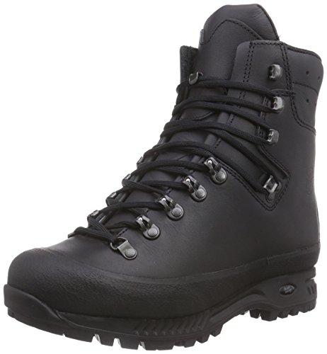 Hanwag Yukon, Zapatos de High Rise Senderismo para Hombre - negro