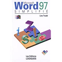 Word 97 simplifie