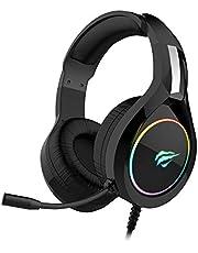 Headphone Fone de Ouvido Havit HV-H2232d, Gamer, Iluminação RGB, com Microfone, Falante de 50mm, Conector 3.5mm, HAVIT, HV-H2232d