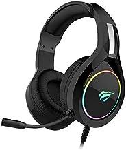 Headphone Fone de Ouvido Havit HV-H2232d, Gamer, Iluminação RGB, com Microfone, Falante de 50mm, Conector 3.5m