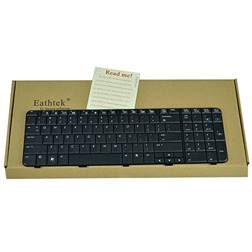Eathtek Replacement Keyboard for HP Compaq G71-329WM G71-333CA G71-333NR G71-339CA G71-340US G71-343US G71-345CL G71-347CL G71-349WM G71-351CA G71-358NR Series Black US Layout