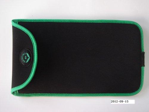 NewlineNY Black Mini Bathroom Scale + Travel Slip Case SBB-0