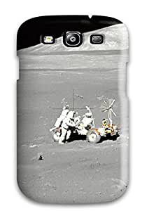 Fashionable Style Case Cover Skin For Galaxy S3- Moon Landing Photography