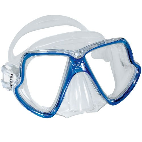 Mares X Vision MID 2 Window Dive Mask (Clear/Silver/Pink)