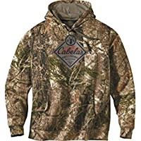 Cabela's Camo Woodlands Hunting Hoodie Sweatshirt for...