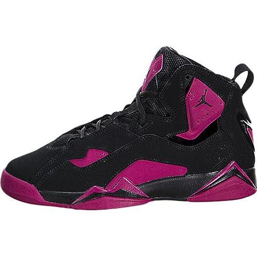 b3f1c11e02b ... switzerland nike jordan kids jordan true flight gg black black sport  fuchsia basketball shoe 7 kids