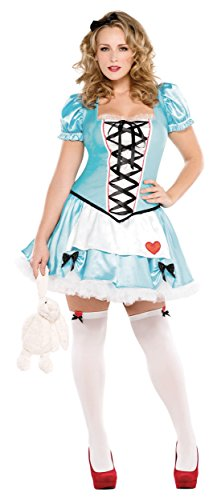 Wonderful Alice Costume - Plus Size - Dress Size (The Rabbit From Alice In Wonderland Costume)