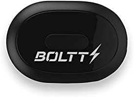 Boltt Stride Sensor with 12 Months Personalized Health Coaching (Black)