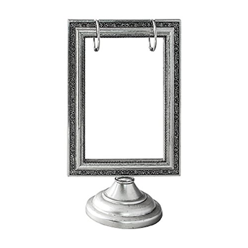 Tim Holtz Idea-ology Flip Frame by, 8.5 x 5 Inches, Antique Nickel Finish, TH93195 by Tim Holtz Idea-ology