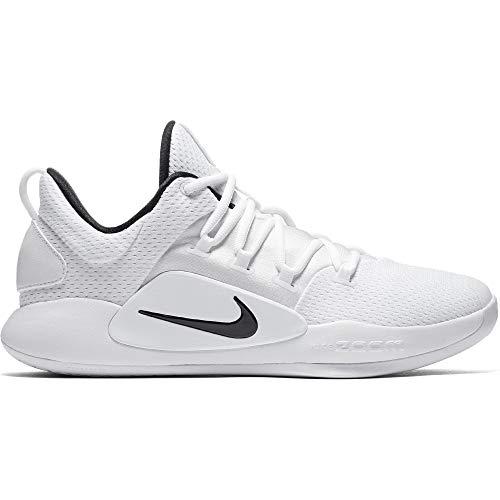 Nike Men's Hyperdunk X Low Team Basketball Shoe White/Black Size 10 M US ()