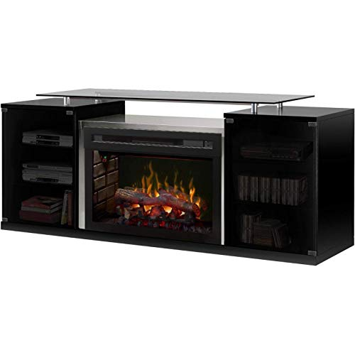 Cheap DIMPLEX Marana Media Console Log Electric Fireplace Black Friday & Cyber Monday 2019