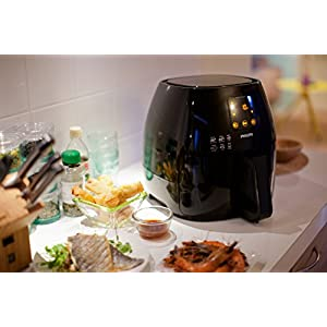 Philips HD9240/94 Avance XL Digital Airfryer (2.65lb/3.5qt), Black Fryer