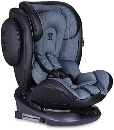 Lorelli asiento infantil Aviator SPS Isofix grupo 0+//1//2//3 color:azul 0-12 a/ños 0-36 kg