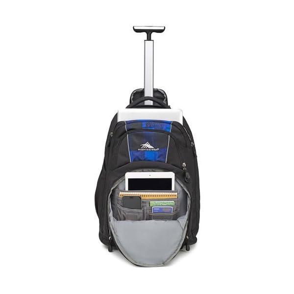 228ba11c06 High Sierra Freewheel Wheeled Laptop Backpack