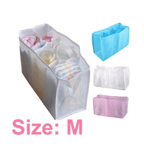 Waterfall Organizer Hutch (VIPASNAM-Portable Travel Outdoor Baby Diaper Nappy Organizer Stuffs Insert Storage Bag)
