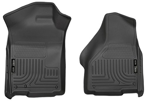 Husky Liners Front Floor Liners Fits 02-18 Ram 1500, 19 Ram Classic 1500, Quad/Standard ()