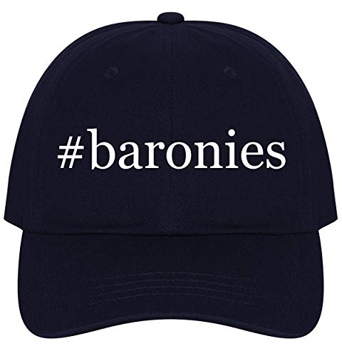 - The Town Butler #Baronies - A Nice Comfortable Adjustable Hashtag Dad Hat Cap, Navy, One Size