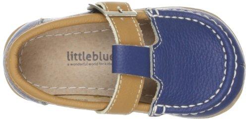 Little Blue Lamb Toddler Schuhe Halbschuhe Loafer blau braun Echt Leder Blau