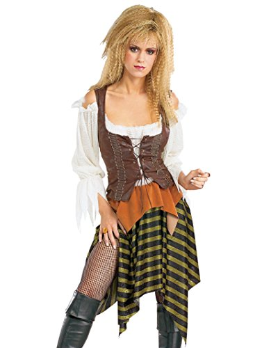[Sexy Pirate Wench 3 Piece Adult Womens Theatre Costumes Sizes: One Size] (Fun Couple Costume Ideas)