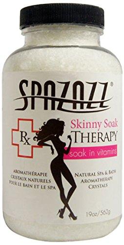 Spazazz SPZ-608 RX Skinny Soak Therapy Crystals Container, 19 oz.