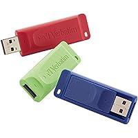Verbatim 97002 3pk 4gb Usb Red/grn/blue