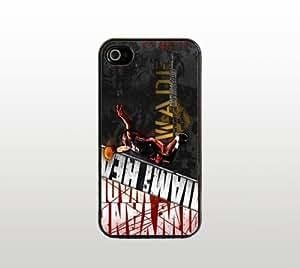 Dwyane Wade For Samsung Galaxy S5 Mini Case Cover - Hard Plastic Snap-On Custom Cover - Black - Basketball