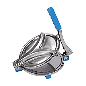 PARATPAR MALL Heavy Quality Puri Maker,Manual Stainless Steel Chapati Press, Chapati Maker Roti Maker with Fitted Handle…