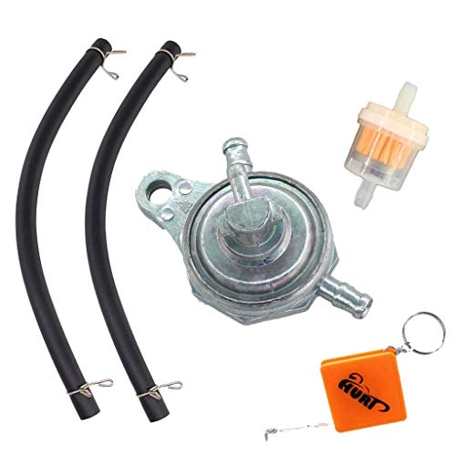 HURI Onderdruk benzinekraan 3 aansluitingen ventielkraan benzinefilter schakelaar voor China Roller 50 ccm 125 cc Rex…