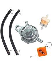 HURI Onderdruk benzinekraan 3 aansluitingen ventielkraan benzinefilter schakelaar voor China Roller 50 ccm 125 cc Rex Baotian Benzhou Jinlin GY6