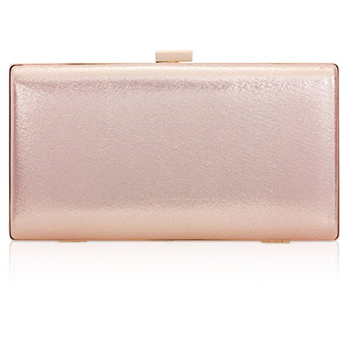 Xardi London - Cartera de mano de piel sintética para mujer Pink Style 4