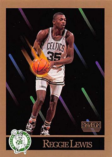 1990-91 SkyBox Basketball #18 Reggie Lewis Boston Celtics Official NBA Trading Card