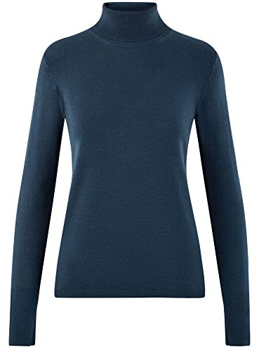 Collection 7900n Maglione Blu Oodji Donna Basic gqzU7