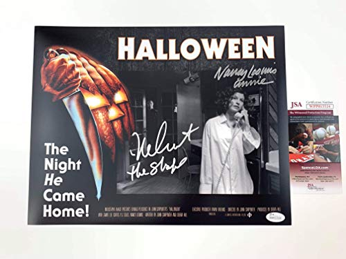 Nick Castle & Nancy Loomis Signed 11x14 PhotoExclusive Halloween -