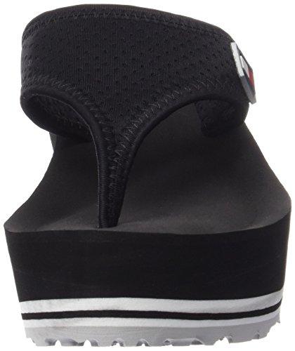 Tommy Hilfiger M1285eagan 1d Sport - Sandalias Mujer Negro - Schwarz (BLACK 990)