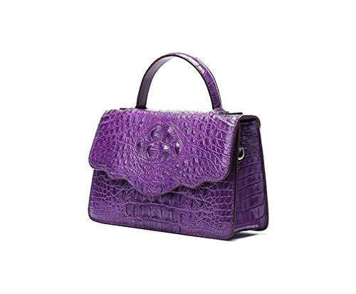 Purple Lusso Originale Bag Rrock red In Coccodrillo Zipper Alta Tracolla Di Sera A Flip Partito Abito Da Pelle Borsa Fascia Messenger Donna TPkiuZOX