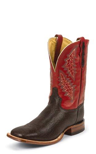 (Tony Lama SS3001 Men's Chocolate Shrunken Shoulder Boot, 090D)