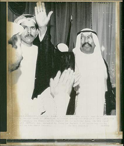 Used, Vintage photo of Sheikh Saad Al-Abdullah Al-Salim Al-Sabah for sale  Delivered anywhere in USA
