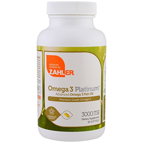 Zahler Omega Platinum Advanced Softgels product image