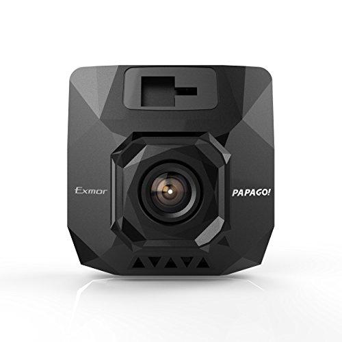 Papago! GoSafe S37 1080P Full HD Sony Exmor Sensor Dash Cam Night Vision Free 8GB Card by PAPAGO