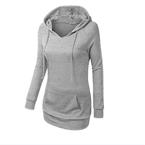 YL - Sudadera - para mujer gris