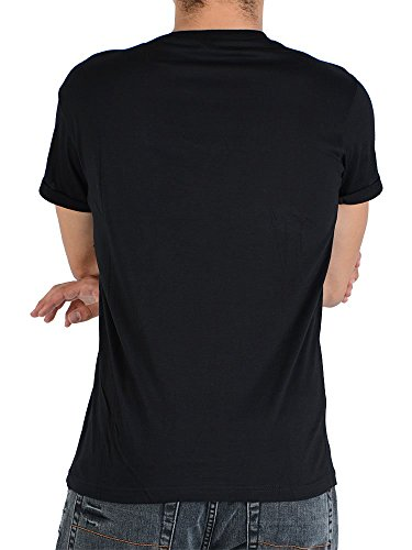 Soul Star - T-shirt - shortsleeve - schwarz mit Print-L