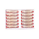 Easyinsmile Dental Synthetic Resin Teeth Acrylic Denture False Tooth for Adults Full Set/Anterior/Posterior