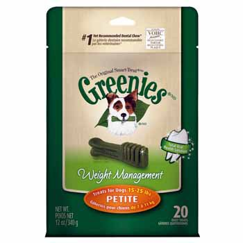 GREENIES Weight Management Dental Dog Treats and Dog Chews
