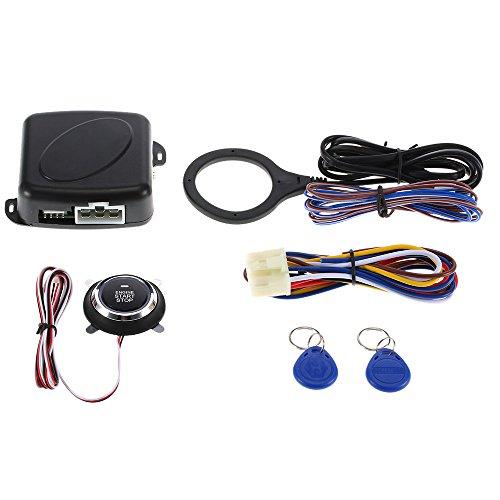 nicebee Auto Coche Alarma motor Starline–Hilo botón PUSH Start Stop RFID bloqueo Interruptor de encendido sin llave...