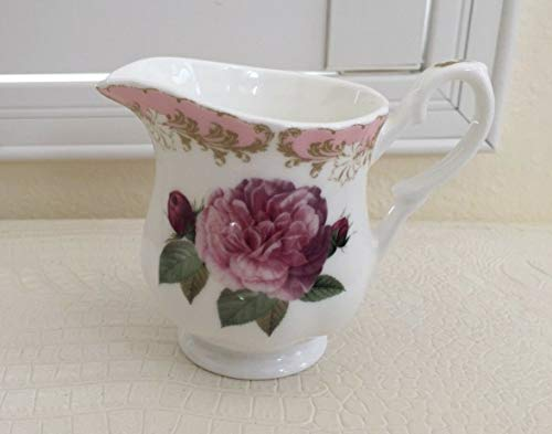 Roy Kirkham Fine Bone China Vintage Rose Cream Jug Made in England - Jug Cream China