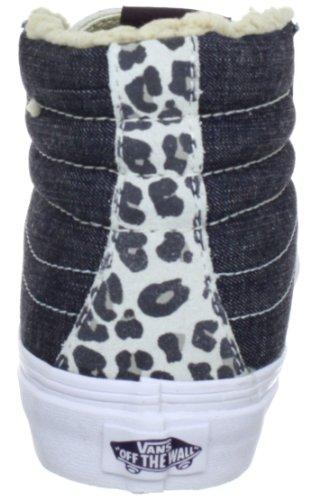 Vans Sk8-Hi Slim VQG3725 - Zapatillas clásicas de tela unisex Gris