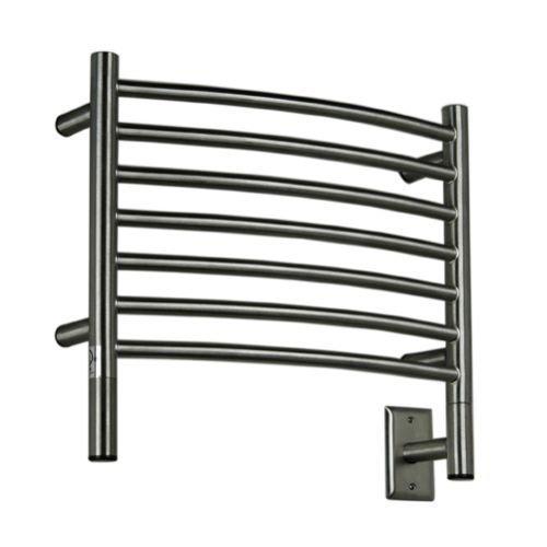 [해외]Amba HC-20 Jeeves 20W 하드 와이어 커브 드 스테인레스 스틸 타올 - 110V,/Amba HC-20 Jeeves 20 W Hardwired Curved Stainless Steel Towel Warmer - 110V,