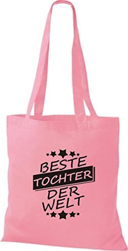Shirtinstyle Cotton Cloth Tochter Pink Bag Bag Welt Best Der PqTErPx
